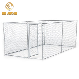 Large Outdoor Metal Dog Kennel Chain Link Mesh Dog Playpen