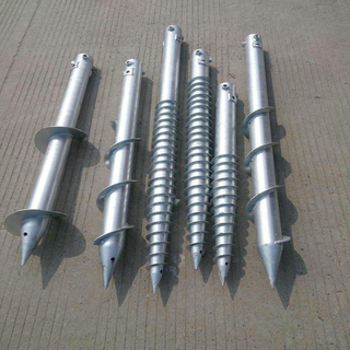 Cheap screw pole anchor, screw ground anchor