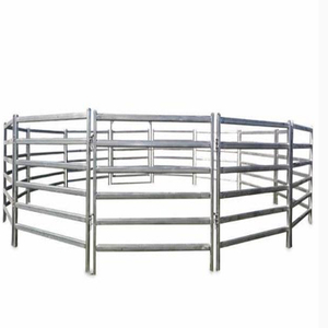 Heavy duty hot dipped galvanized livestock cattle yard fence panel