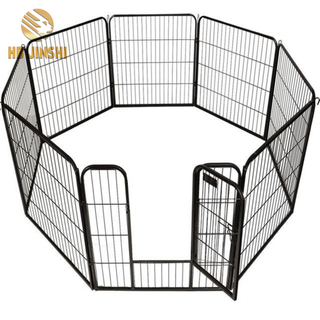30'' 8 Panels Heavy Duty Steel Frame Welded Wire Pet Cage Dog Playpen