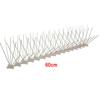Bird scare metal stainless steel anti small bird spike